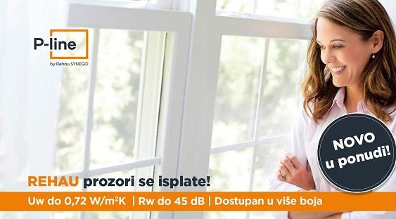 Rehau PVC prozori