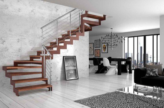 Kako povezati dvoetažni stan stepenicama