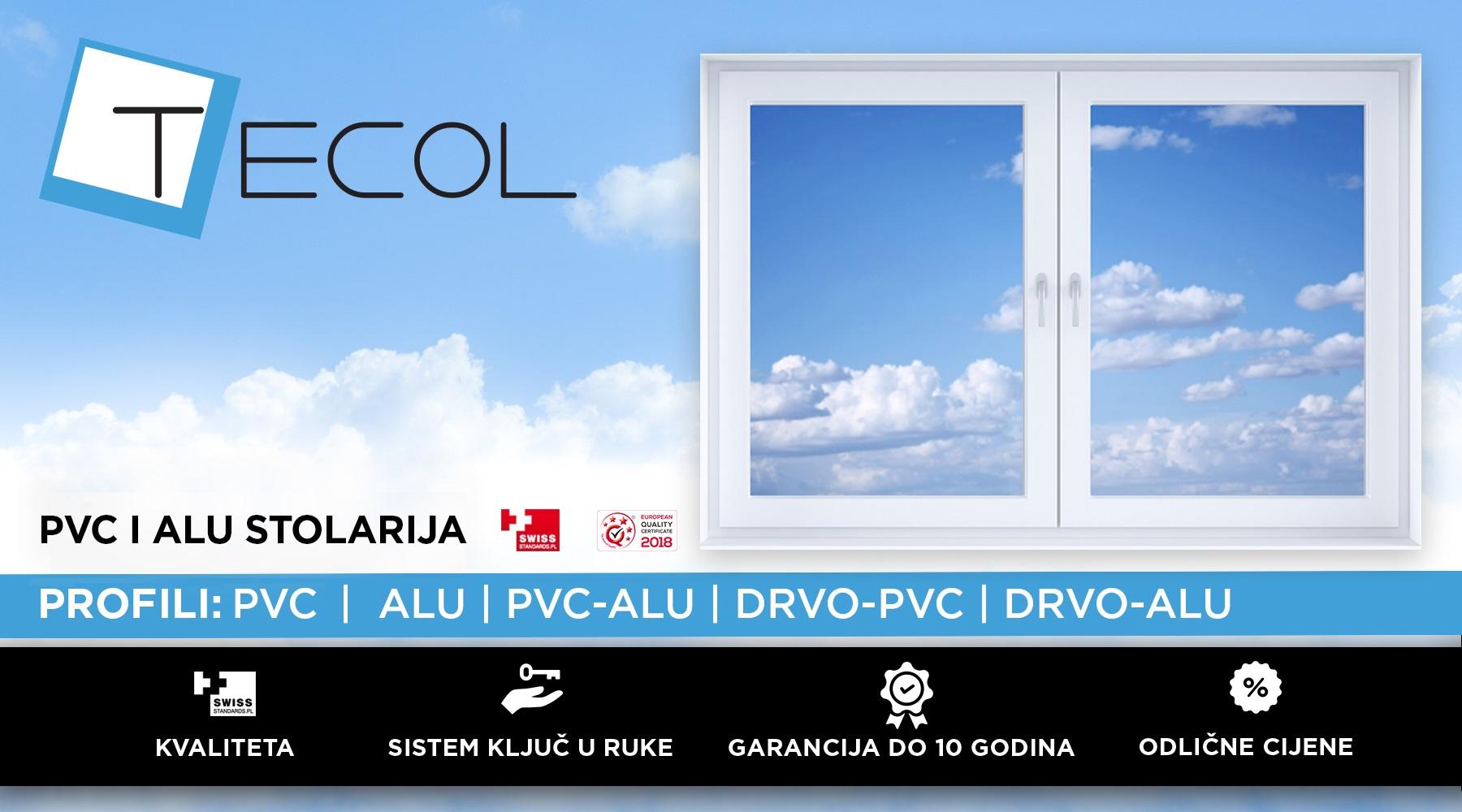 TECOL - PVC i ALU stolarija Rijeka